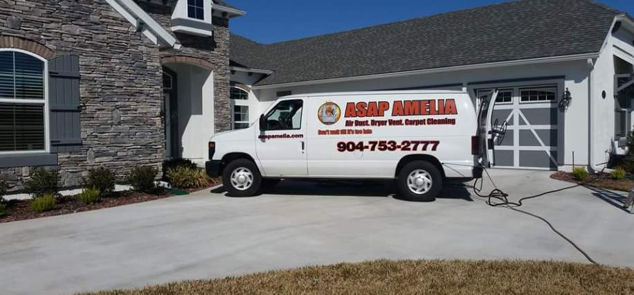 Yulee, Fernandia Beach, Saint Mary's Georgia and Amelia Island Air Duct, Dryer Vent, Tile, and Carpet Cleaning service